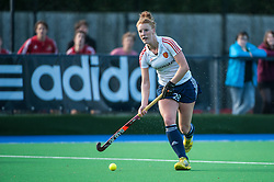 England's Nicola White. England v Belgium, Bisham Abbey, Marlow, UK on 09 May 2014. Photo: Simon Parker