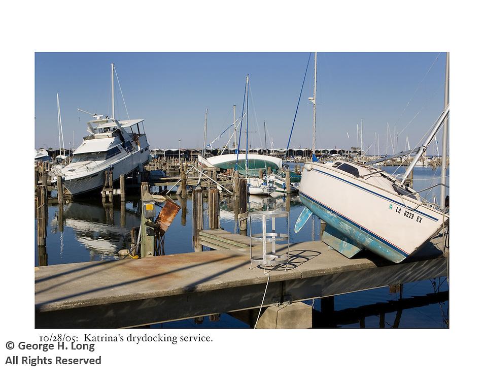 10/28/05:  Katrina's drydocking service.