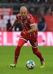 20180121, 1.BL, FC Bayern vs Werder Bremen, Allianz Arena Muenchen, Fussball, Sport, im Bild:...Arjen Robben (FCB)..*Copyright by:  Philippe Ruiz..Postbank Muenchen.IBAN: DE91 7001 0080 0622 5428 08..Oberbrunner Strasse 2.81475 MŸnchen, .Tel: 089 745 82 22, .Mobil: 0177 29 39 408..( MAIL:  philippe_ruiz@gmx.de ) ..Homepage: www.sportpressefoto-ruiz.de. (Credit Image: © Philippe Ruiz/Xinhua via ZUMA Wire)