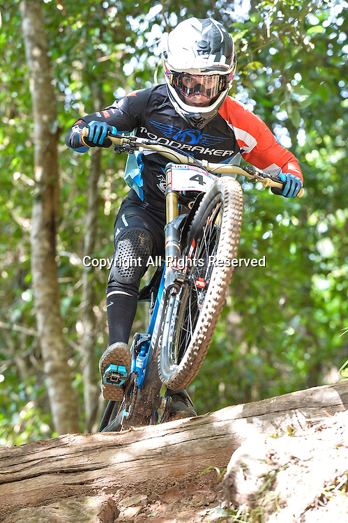 22.04.2016. Cairns,Australia. UCI Mountain Bike World Cup. Downhill qualifying. Danny Hart from GBR riding for the MS MONDRAKER TEAM.