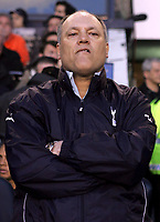Photo: Paul Thomas.<br /> Tottenham Hotspur v Sevilla. UEFA Cup. Quarter Final, 2nd Leg. 12/04/2007.<br /> <br /> Spurs manager, Martin Jol.