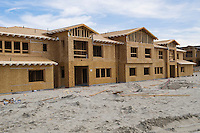 New homes under construction