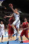 17.8.2012, J??halli / Ice Stadium, Helsinki, Finland..Koripallon EM-karsintaottelu Suomi - Albania / FIBA EuroBasket 2013 Qualifying match, Finland v Albania..Hanno M?tt?l? - Finland..
