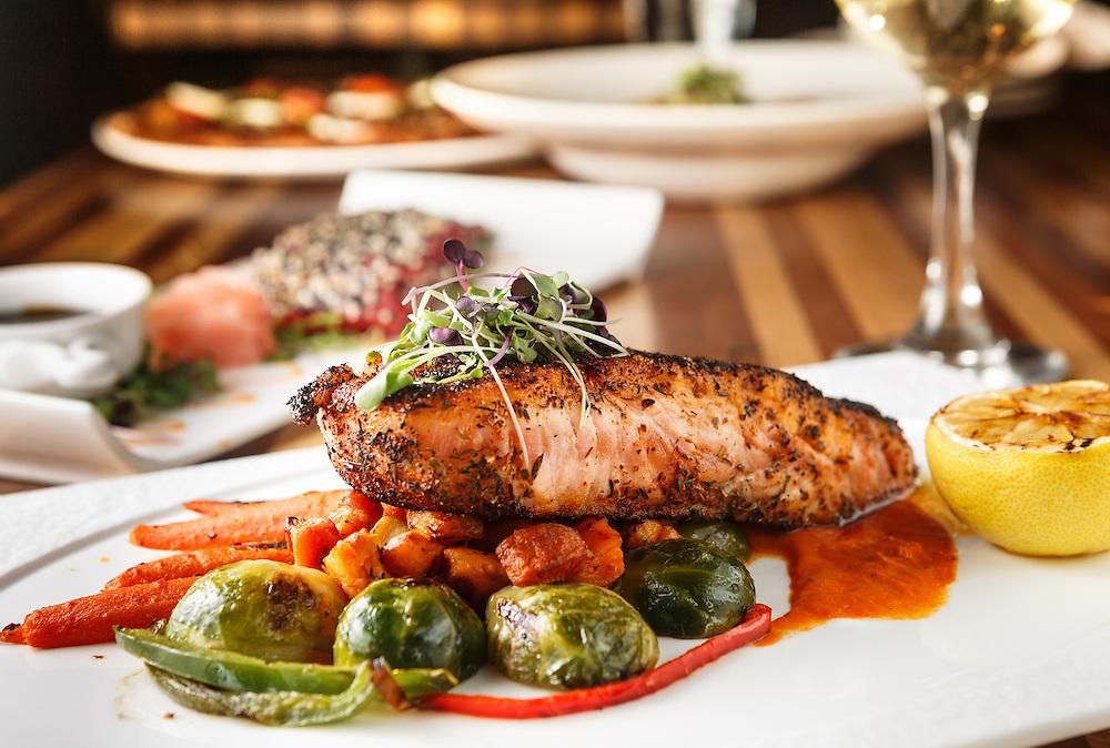 Pan Seared Atlantic Salmon