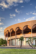Architectural photograph of Gammage Auditorium at Arizona State University, Tempe, Arizona