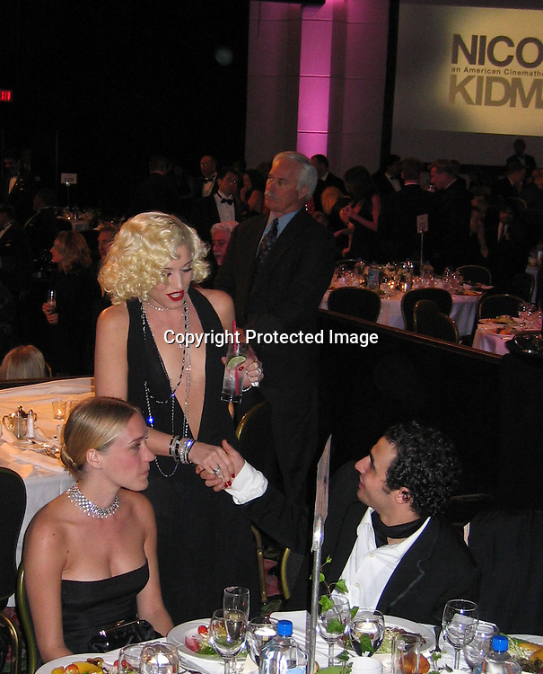 Chloe Sevigny, Gwen Stefan &amp; Zac Posen <br />**EXCLUSIVE**<br />2003 American Cinematheque Award Honoring Nicole Kidman<br />Beverly Hilton Hotel <br />Los Angeles, CA, 2003<br />Friday, November, 14, 2003<br />Photo By Celebrityvibe.com/Photovibe.com