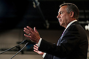 During his weekly press conference on Capitol Hill, House Speaker JOHN BOEHNER urged government investigators to get to the bottom of what happened between Secret Service agents, military personnel and prostitutes in Columbia before President Obama's trip.