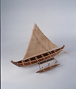 Outrigger Sailing Canoe<br />