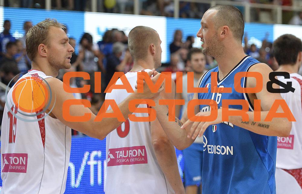DESCRIZIONE : Trentino Basket Cup Italia-Polonia<br /> GIOCATORE : Guido Rosselli<br /> CATEGORIA : pregame<br /> SQUADRA : Nazionale Italiana<br /> EVENTO : Trentino Basket Cup<br /> GARA : Italia-Polonia<br /> DATA : 09/08/2013<br /> SPORT : Pallacanestro <br /> AUTORE : Agenzia Ciamillo-Castoria/R. Morgano<br /> Galleria : FIP nazionali 2013  <br /> Fotonotizia : Trentino basket cup Italia-Polonia<br /> Predefinita :