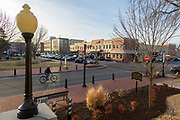 BENTONVILLE, AR - FEBRUARY 15:  View around the Square in Bentonville, Arkansas.<br /> CREDIT Wesley Hitt for The Wall Street Journal<br /> WALMART-Bentonville Scene-setters
