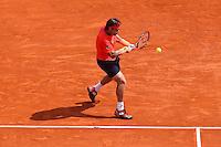 David Ferrer - 17.04.2015 - Tournoi de Monte Carlo 2015 - Masters 1000 <br />Photo : Serge Haouzi / Icon Sport
