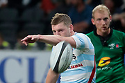 Finn Russell (Racing 92) transformed the penalty of the try from Josevata Taliga Rokocoko (Racing 92) during the French championship Top 14 Rugby Union match between Racing 92 and SU Agen on September 8, 2018 at U Arena in Nanterre, France - Photo Stephane Allaman / ProSportsImages / DPPI