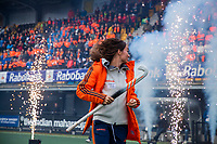 Den Bosch - Rabo fandag 2019 . hockey clinics met de spelers van het Nederlandse team. opkomst van international Ginella Zerbo (Ned) .   COPYRIGHT KOEN SUYK