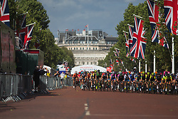The start of the Prudential RideLondon Classique - a 64.8 km road race, starting and finishing in central London on July 28, 2018, in London, United Kingdom. (Photo by Balint Hamvas/Velofocus.com)