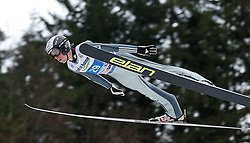 04.01.2014, Bergisel Schanze, Innsbruck, AUT, FIS Ski Sprung Weltcup, 62. Vierschanzentournee, Probesprung, im Bild Antonin Hajek (CZE) // Antonin Hajek of Czech Republic during Trial Jump of 62nd Four Hills Tournament of FIS Ski Jumping World Cup at the Bergisel Schanze, Innsbruck, Austria on 2014/01/04. EXPA Pictures © 2014, PhotoCredit: EXPA/ Peter Rinderer