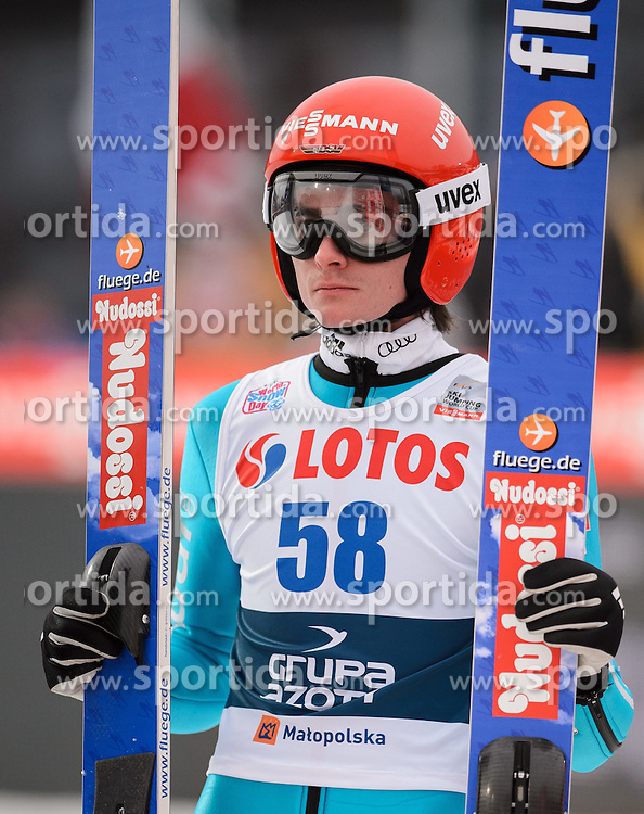 18.01.2015, Wielka Krokiew, Zakopane, POL, FIS Weltcup Ski Sprung, Zakopane, im Bild RICHARD FREITAG // during men's Large Hill competition of FIS Ski Jumping world cup at the Wielka Krokiew in Zakopane Wielka Krokiew in Zakopane, Poland on 2015/01/18. EXPA Pictures &copy; 2015, PhotoCredit: EXPA/ Newspix/ RAFAL OLEKSIEWICZ<br /> <br /> *****ATTENTION - for AUT, SLO, CRO, SRB, BIH, MAZ, TUR, SUI, SWE only*****