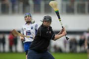 24/09/2016, Intermediate Camogie Final at Trim.<br /> Boardsmill vs Dunderry<br /> Dunderry Goalkeeper- Colette Rowan<br /> Photo: David Mullen /www.cyberimages.net / 2016<br /> ISO: 800; Shutter: 1/1328; Aperture: 4; <br /> File Size: 2.4MB<br /> Print Size: 8.6 x 5.8 inches