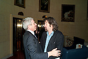 ALAN BRODIE; SIR TREVOR NUNN, After -party celebrating the Gala Preview of the new west end production of Flare Path, Whitehall. March 10 2011.  -DO NOT ARCHIVE-© Copyright Photograph by Dafydd Jones. 248 Clapham Rd. London SW9 0PZ. Tel 0207 820 0771. www.dafjones.com.