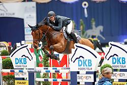 Estermann, Paul (SUI), Lord Pepsi<br /> München - Munich Indoors 2016<br /> Championat von München<br /> © www.sportfotos-lafrentz.de / Stefan Lafrentz