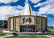 Pro Football Hall of Fame, Canton, Ohio, USA.