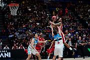 Keifer Sykes <br /> A X Armani Exchange Olimpia Milano - Vanoli Cremona <br /> Basket Serie A LBA 2019/2020<br /> Milano 09 February 2020<br /> Foto Mattia Ozbot / Ciamillo-Castoria
