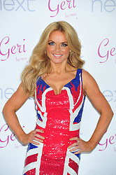 © Licensed to London News Pictures. 05/12/2012. London, England. Geri Halliwell The former Spice Girl launches a union jack range for Next in Mercer Street London  Photo credit : ALAN ROXBOROUGH/LNP