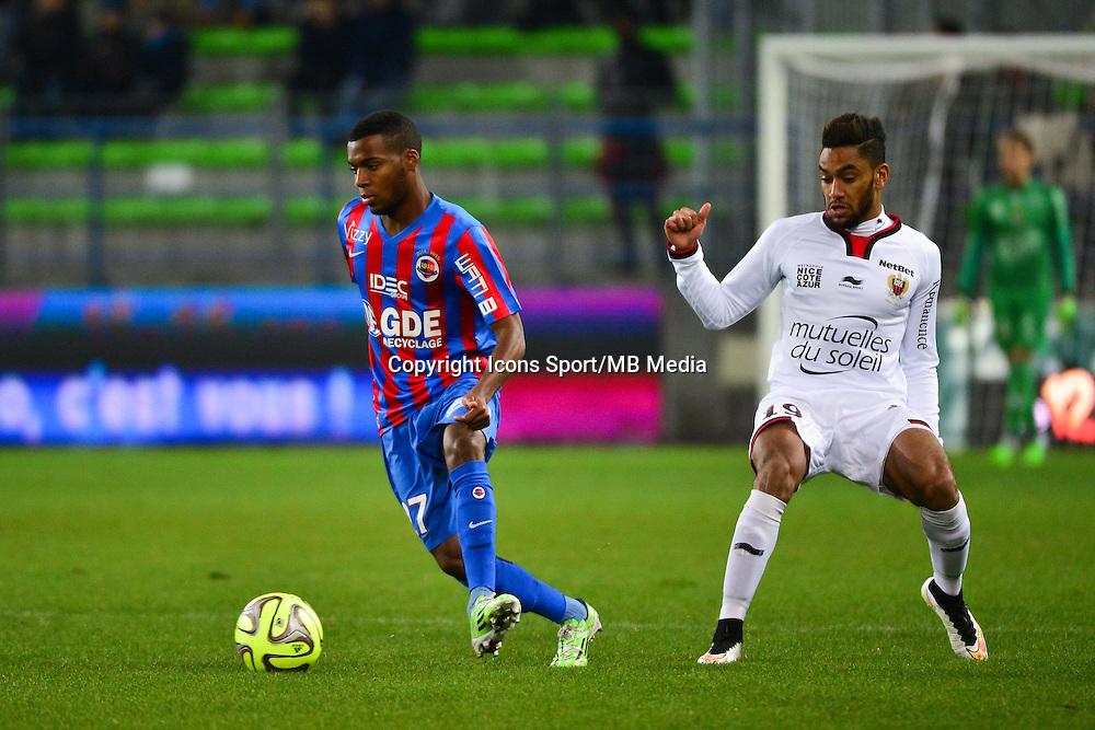 Thomas LEMAR - 06.12.2014 - Caen / Nice - 17eme journee de Ligue 1 -<br />Photo : Dave Winter / Icon Sport