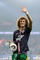 David Luiz - PSG Champion - 23.05.2015 - PSG / Reims - 38eme journee de Ligue 1<br /> Photo : Andre Ferreira / Icon Sport