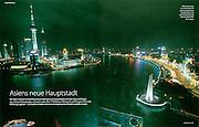 "TEARSHEET: ""Shanghai"" by Heimo Aga, GEO Special."