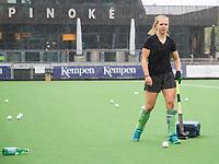 Amstelveen - nieuwe aanwinst, Pamela Raaff,  tijdens de training van Pinoke Dames I, naar aanloop van de hoofdklasse hockey competitie. COPYRIGHT KOEN SUYK