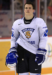 Ville Koistinen of Finland at ice-hockey match Finland vs USA at Qualifying round Group F of IIHF WC 2008 in Halifax, on May 11, 2008 in Metro Center, Halifax, Nova Scotia, Canada. (Photo by Vid Ponikvar / Sportal Images)