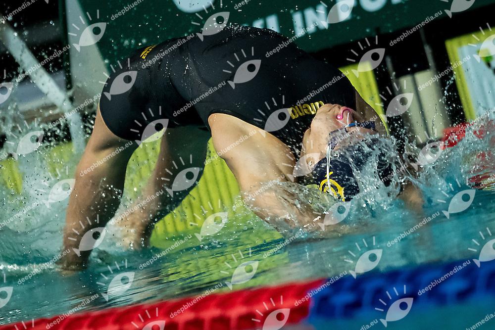 Margherita Panziera Circolo Canottieri Aniene 50m dorso donne<br /> Riccione 16-12-2016 <br /> Campionati italiani assoluti invernali open <br /> Swimming Nuoto <br /> Foto Andrea Staccioli/Deepbluemedia/Insidefoto