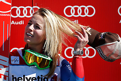 13.03.2014, Pista Silvano Beltrametti, Lenzerheide, SUI, FIS Weltcup Ski Alpin, Lenzerheide, Super G, Damen, im Bild Lara Gut (SUI) // during womens Super G of FIS Ski Alpine World Cup finals Pista Silvano Beltrametti in Lenzerheide, Switzerland on . EXPA Pictures © 2014, PhotoCredit: EXPA/ Freshfocus/ Andreas Meier<br /> <br /> *****ATTENTION - for AUT, SLO, CRO, SRB, BIH, MAZ only*****