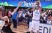 DESCRIZIONE : Trento Nazionale Italia Uomini Trentino Basket Cup Italia Germania Italy Germany<br /> GIOCATORE : Riccardo Moraschini<br /> SQUADRA : Italia Nazionale Uomini Italy<br /> EVENTO : Trentino Basket Cup<br /> GARA : Italia Germania Italy Germany<br /> DATA : 10/07/2014 <br /> SPORT : Pallacanestro<br /> AUTORE : Agenzia Ciamillo-Castoria<br /> Galleria : FIP Nazionali 2014<br /> Fotonotizia : Trento Nazionale Italia Uomini Trentino Basket Cup Italia Germania Italy Germany