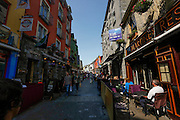 A view down Shop Street in Galway, County Galway, Ireland on Monday, June 24th 2013. (Photo by Brian Garfinkel)