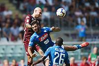 Simone Zaza-Sebastiano Luperto<br /> Torino 23-09-2018 Stadio Olimpico Grande Torino Football Calcio Serie A 2018/2019 Torino - Napoli Foto Image Sport / Insidefoto