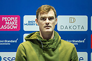 Jamie Murray at a press conference ahead of the Andy Murray Live event at SSE Hydro, Glasgow, Scotland on 7 November 2017. Photo by Craig Doyle.