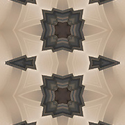 Photographic series of digital computer art from an image of vestibule vaults.<br /> <br /> Two layers were used, first one mirrored and flipped to second one, to enhance, alter, manipulate the image, creating an abstract surrealistic mirrored symmetry.