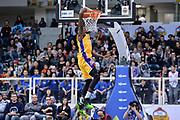 DESCRIZIONE : Trento Beko All Star Game 2016 Mini Slam Dunk Contest<br /> GIOCATORE : Awudu Abass Maglia Lakers Kobe Bryant<br /> CATEGORIA : Schiacciata Sequenza<br /> SQUADRA : Acqua Vitasnella Cantù<br /> EVENTO : Beko All Star Game 2016<br /> GARA : Mini Slam Dunk Contest<br /> DATA : 10/01/2016<br /> SPORT : Pallacanestro <br /> AUTORE : Agenzia Ciamillo-Castoria/L.Canu