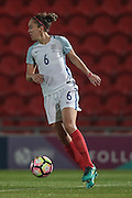 Jo Potter (England) during the International Friendly match between England Women and France Women at the Keepmoat Stadium, Doncaster, England on 21 October 2016. Photo by Mark P Doherty.
