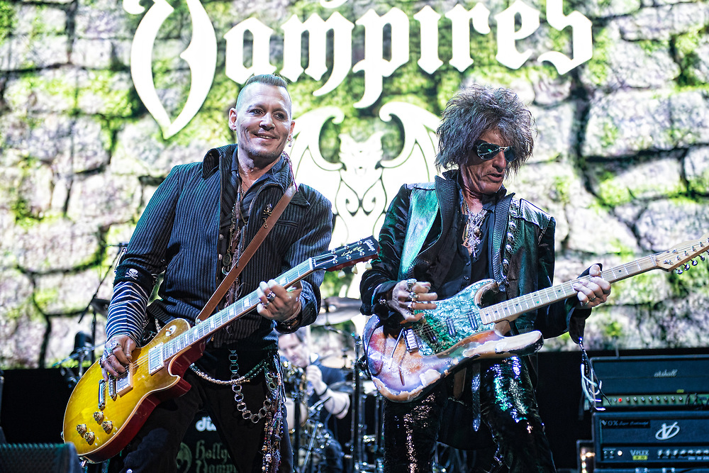 Hollywood Vampires in concert at The SSE Hydro, Glasgow, Great Britain 19th June 2018