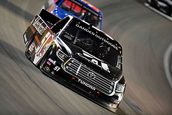 March 1, 2019 - Las Vegas, Nevada, U.S. - LAS VEGAS, NV - MARCH 01: Kyle Busch (51) KBM Toyota Tundra racing during the Gander Outdoors Truck Series Strat 200 race on March 1, 2019, at Las Vegas Motor Speedway in Las Vegas, NV. (Photo by David Allio/Icon Sportswire) (Credit Image: © David Allio/Icon SMI via ZUMA Press)