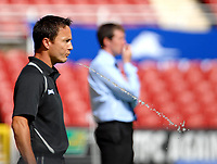 Photo: Ed Godden.<br />Swindon Town v Stockport County. Coca Cola League 2. 26/08/2006. Swindon Manager Dennis Wise.