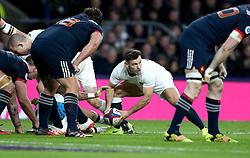 Danny Care of England picks up the ball - Mandatory by-line: Robbie Stephenson/JMP - 04/02/2017 - RUGBY - Twickenham - London, England - England v France - RBS Six Nations