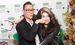 Gok Wan with Caitlin Moran during the Specsavers National Book Awards 2012, Central London, Great Britain, December 4, 2012. Photo by Elliott Franks / i-Images.