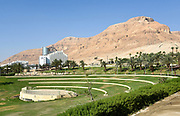 Israel, Dead Sea, resort Hotel area
