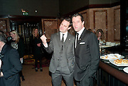 HARRY HADDEN-PATON; JAMES PUREFOY, After -party celebrating the Gala Preview of the new west end production of Flare Path, Whitehall. March 10 2011.  -DO NOT ARCHIVE-© Copyright Photograph by Dafydd Jones. 248 Clapham Rd. London SW9 0PZ. Tel 0207 820 0771. www.dafjones.com.
