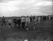 Golf - Irish Amateur Open Championships at Royal Dublin, Dollymount..Joe Carr - Irish Close Champion..01/09/1954