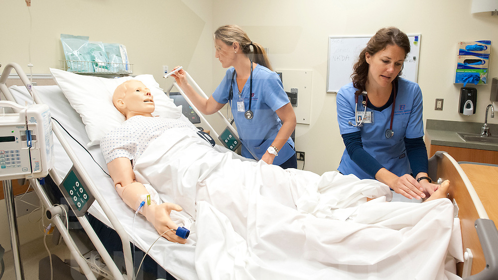 Simulation and Practice labs, Nursing, for Becky Bunderson, Carrie Quinney photo