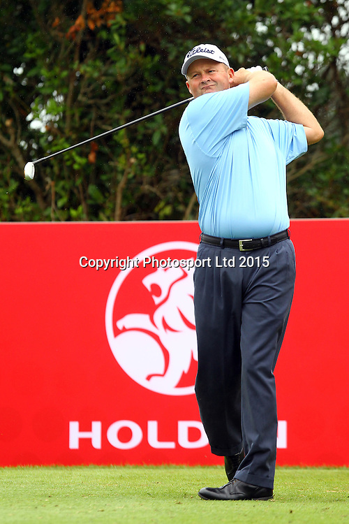 Marcus Cain during the Holden NZPGA Championship at Remuera Golf Course in Auckland, New Zealand. Friday 6 March 2015. Copyright photo: William Booth / www.Photosport.co.nz